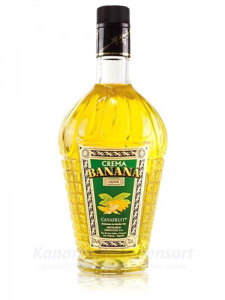 Crema Banana Arehucas - Bananenlikör - 0,7 Liter 20% Vol.