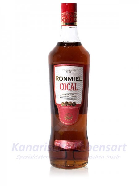 Ron Miel Cocal - Honigrum - 1 Liter 30% Vol.