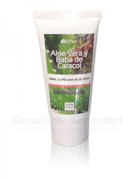 Creme mit Schneckenschleim und Aloe Vera - 50ml