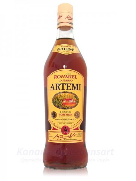 Ron Miel Canario Artemi - Honigrum - 1 Liter 20% Vol.