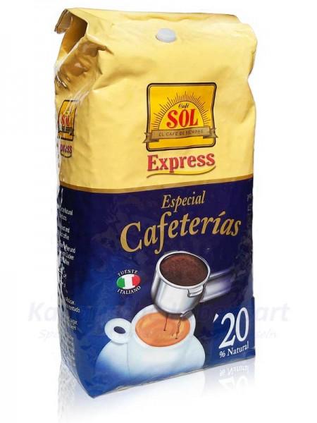 Café Sol en Grano Mezcla Fuerte - ganze Bohne - 1Kg