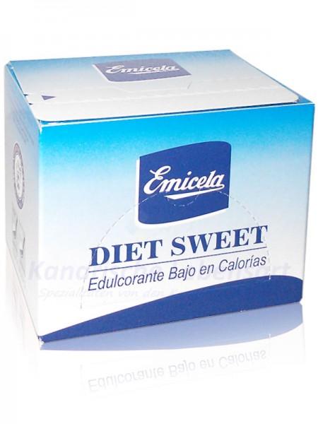 Edulcorante - Süssstoff in Spenderbox mit 60 Stück á 1g