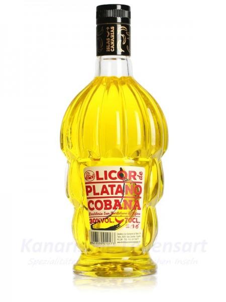 Licor de Platano Cobana - 0,7 Liter 30% Vol.