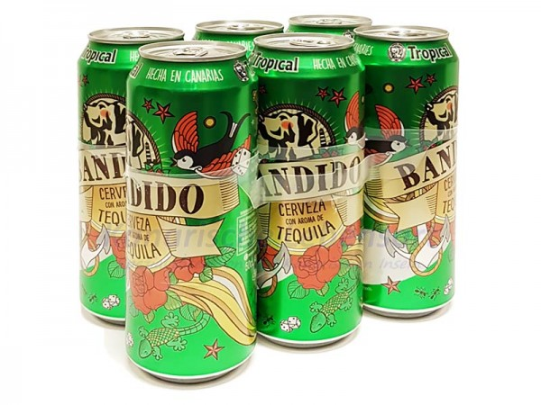 Tropical Bandido 500ml Dose 6er-Pack