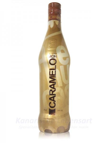 Licor Ron Caramelo Arehucas - 0,7 Liter 24% Vol.