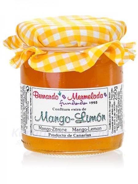 Mango-Zitrone-Konfitüre - 240g - Bernardo's Mermeladas