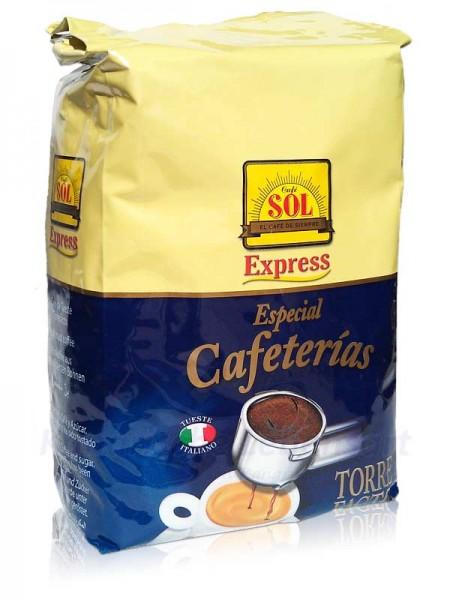 Café Sol en Grano Tueste Torrefacto - ganze Bohne - 1Kg