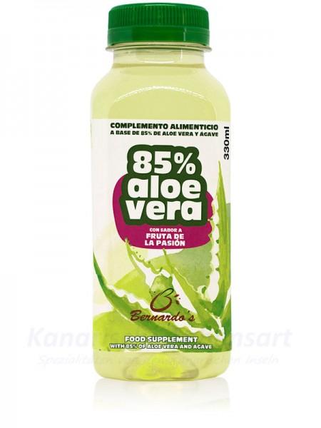 Aloe Vera Saft mit Passionsfrucht - 330ml