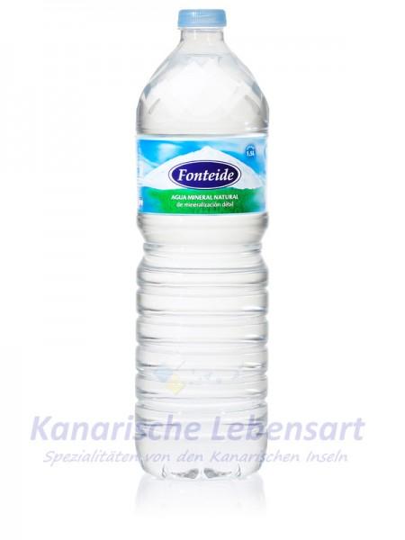 Fonteide - Agua Mineral Natural sin Gas - 1,5 Liter