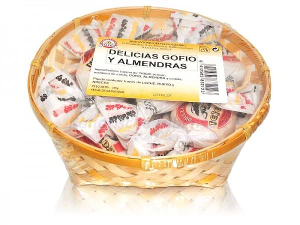 Delicias Gofio y Almendras - 350g