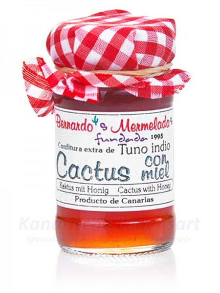 Kaktuskonfitüre mit Honig - 65g - Bernardo's Mermeladas