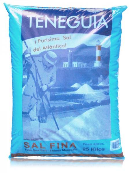 Sal Marina TENEGUIA - feines Meersalz - 25Kg