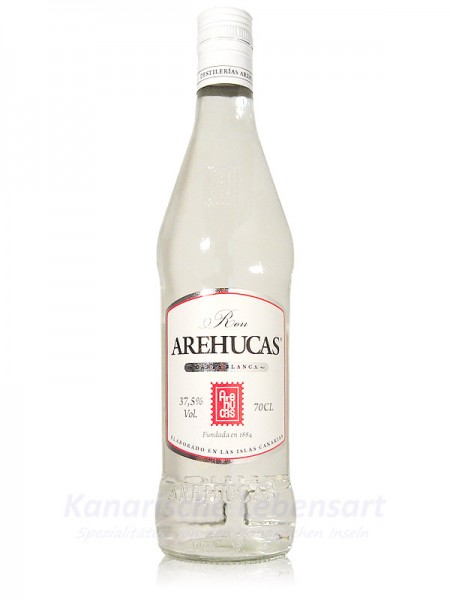 Ron Arehucas Carta Blanca - 0,7 Liter 37,5% Vol.