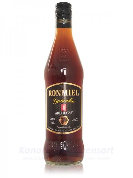Ron Miel Guanche Arehucas - 0,7 Liter 20% Vol.