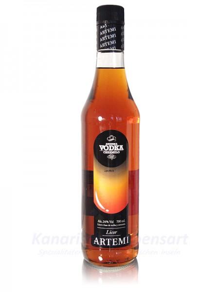 Vodka Caramelo Artemi - 0,7 Liter 24% Vol.