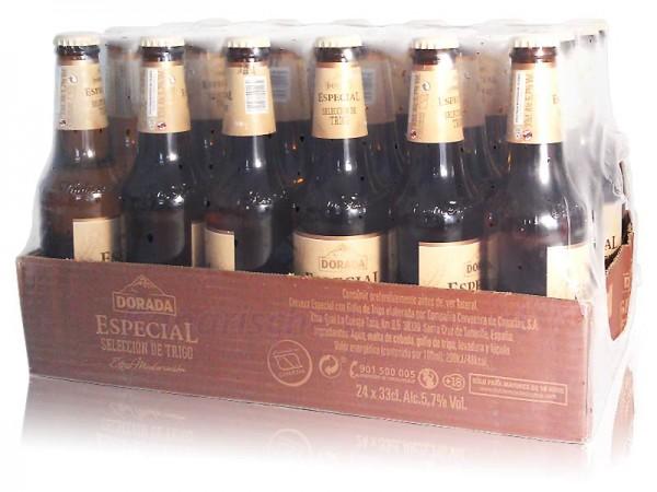 Dorada Especial Selección de Trigo - 330ml Flasche im 24er-Pack