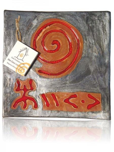Keramikteller Quadratisch - ca. 20x20cm
