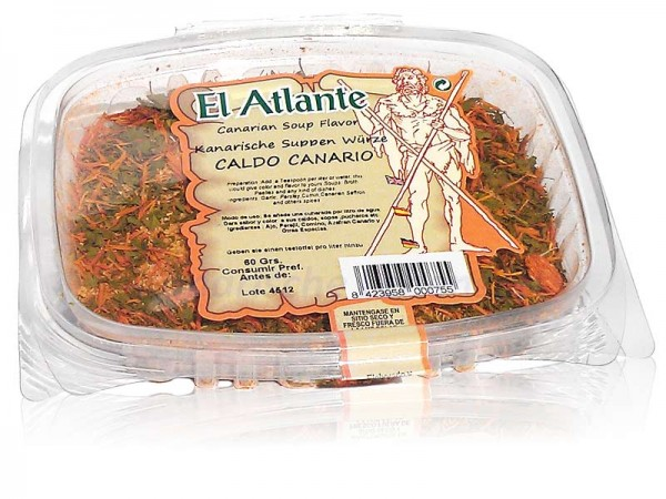 Caldo Canario - Kanarische Suppenwürze - 60g