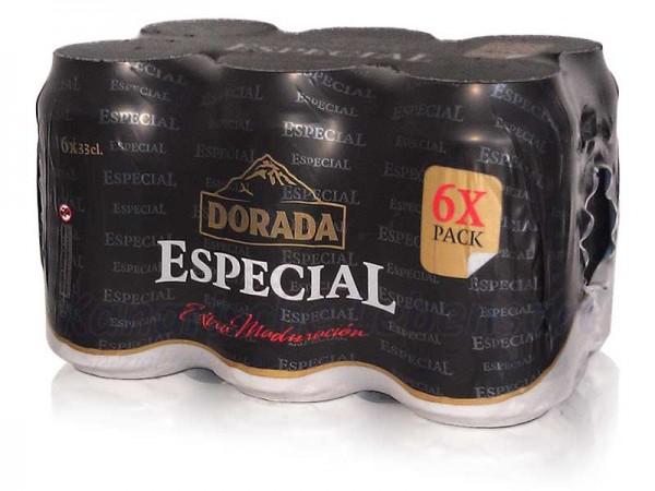 Dorada Especial - 330ml Dose im 6er-Pack