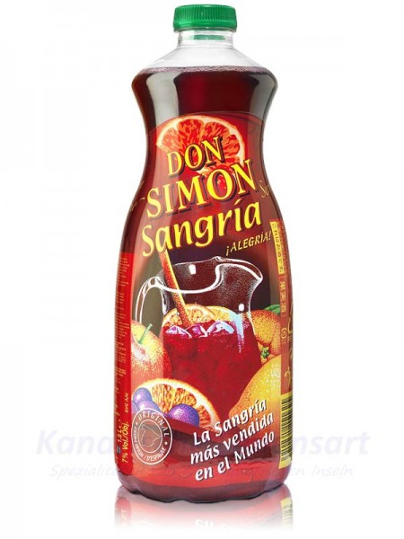 Sangria Don Simon in 1,5 Liter PET-Flasche 7% Vol.