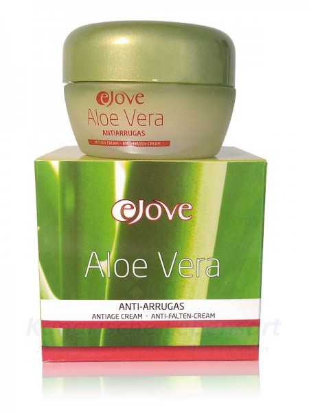 Crema Anti-Arrugas 100% Aloe Vera - Antifaltencreme - 50ml