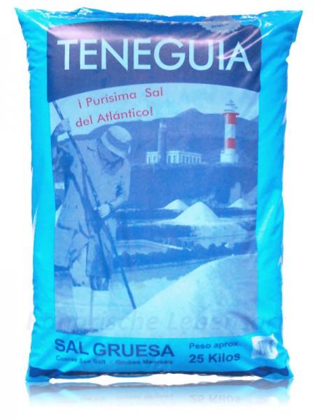 Sal Marina TENEGUIA - grobes Meersalz - 25Kg