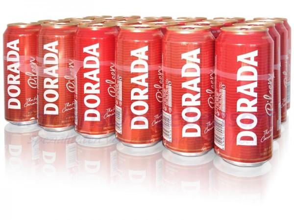 Dorada Pilsen - 500ml Dose im 24er-Pack