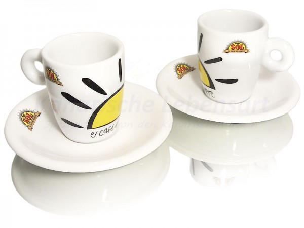 Espressotassen Café Sol - 2er-Set