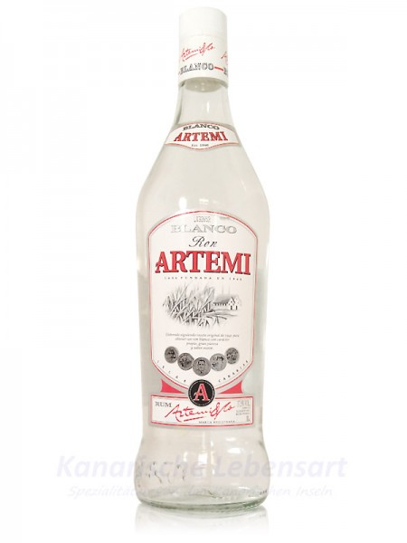 Ron Artemi Blanco - 1 Liter 37,5% Vol.