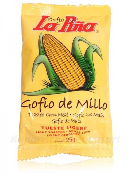 Gofio de Millo - TUESTE LIGERO - 25g Portionstüte