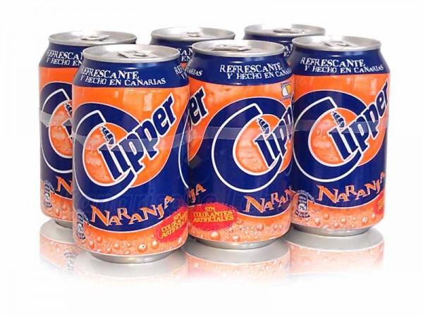 Clipper Naranja - 330ml Dose im 6er-Pack