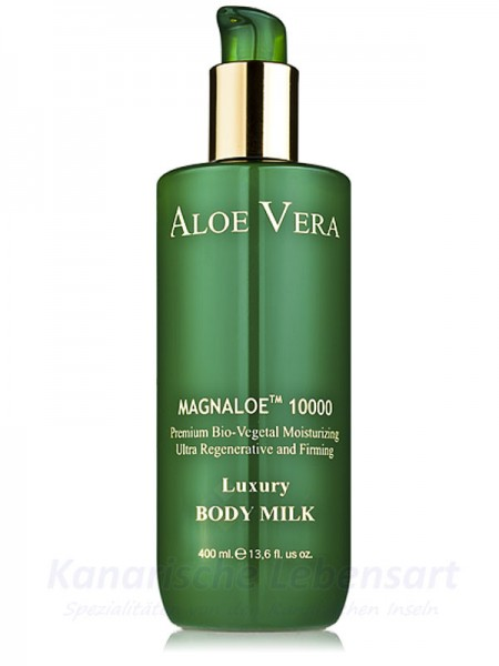 MAGNALOE 10000 Luxury Body Milk - Canarias Cosmetics - 400ml