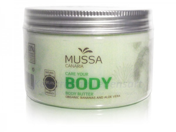 Aloe Vera Body Butter Mussa Canaria - 300ml