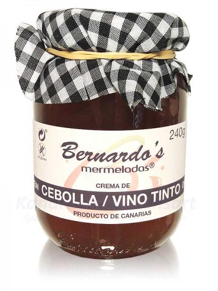 Crema de Cebolla Vino Tinto - 240g