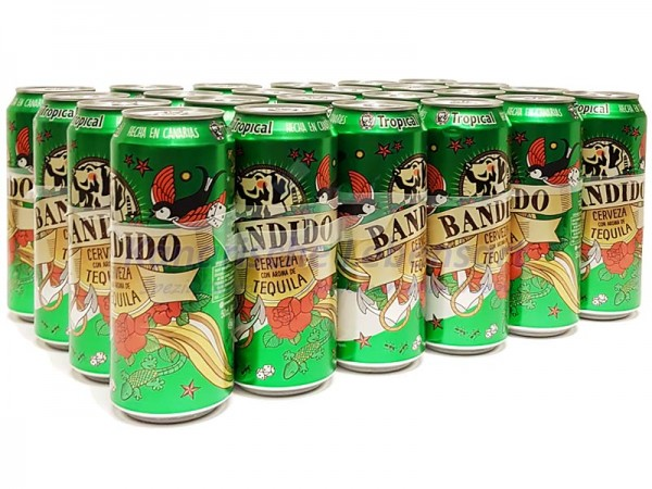 Tropical Bandido 500ml Dose im 24er-Pack