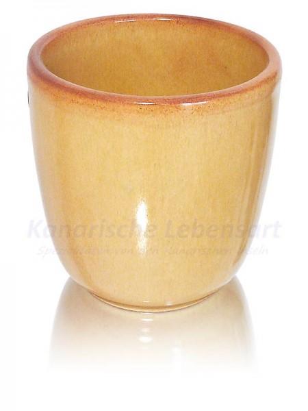 Trinkbecher beige - 8cm