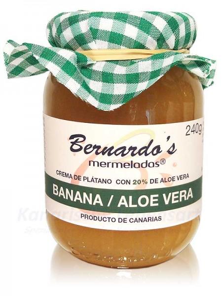 Bananencreme mit Aloe Vera