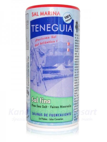 Sal Marina TENEGUIA - feines Meersalz - 250g Streuer