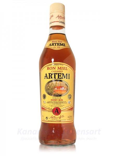 Ron Miel Canario Artemi - Honigrum - 0,7 Liter 20% Vol.