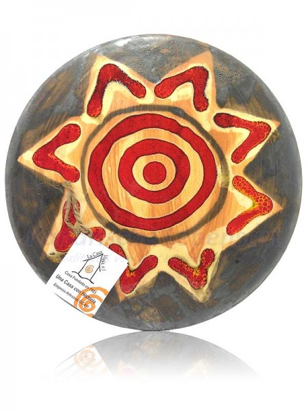 Keramikteller Grau - ca. 24cm