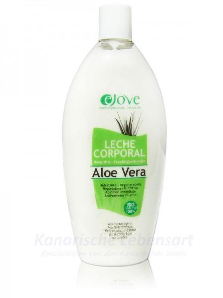 Leche Corporal - Aloe Vera Feuchtigkeitsmilch Ejove - 500ml