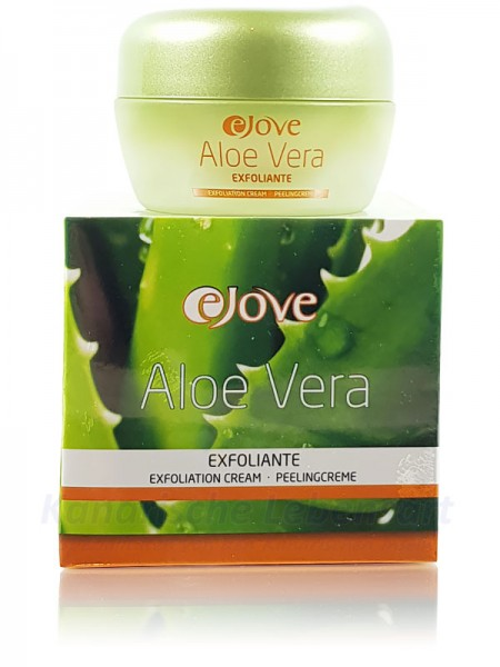 Crema Exfoliante Ejove - Aloe Vera Peelingcreme - 50ml