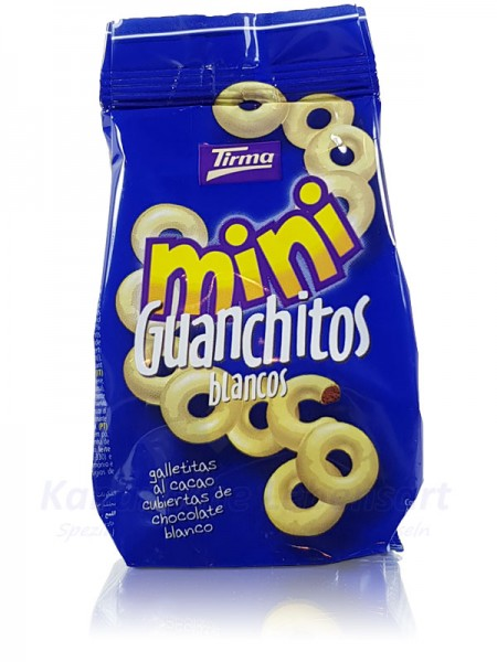 Mini Guanchitos Blancos Tirma - 125g
