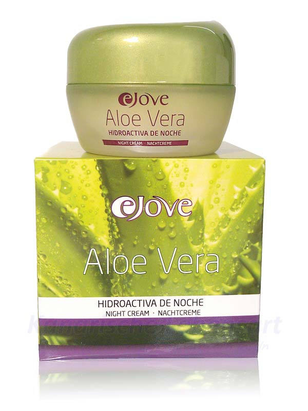 crema hidroactiva de noche 100 aloe vera nachtcreme 50ml kanarische lebensart. Black Bedroom Furniture Sets. Home Design Ideas