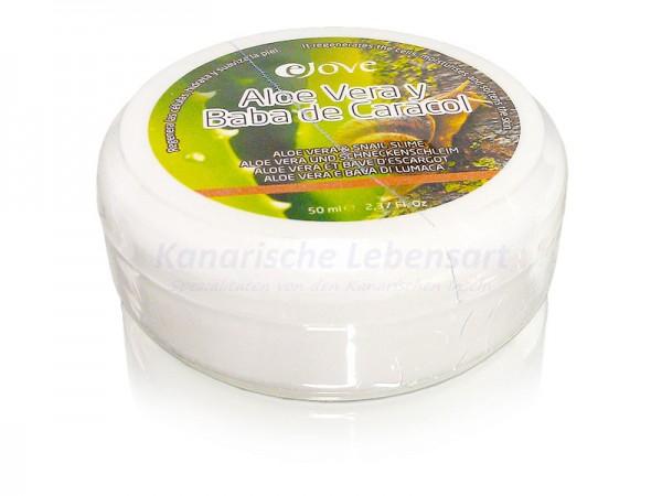 Aloe Vera Creme mit Schneckenschleim - 50ml