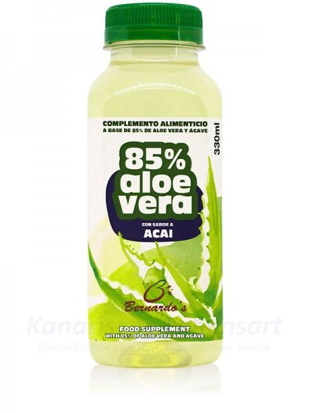 Aloe Vera Saft mit Acai - 330ml