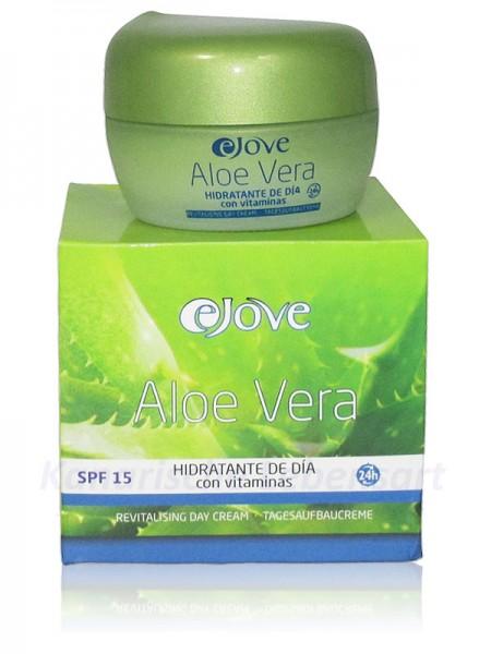 Crema Hidratante de Día 100% Aloe Vera EJOVE - 50ml