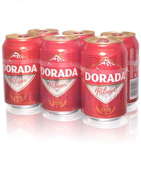 Dorada Pilsen - 330ml Dose im 6er-Pack