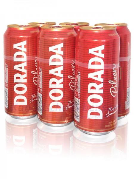 Dorada Pilsen - 500ml Dose im 6er-Pack