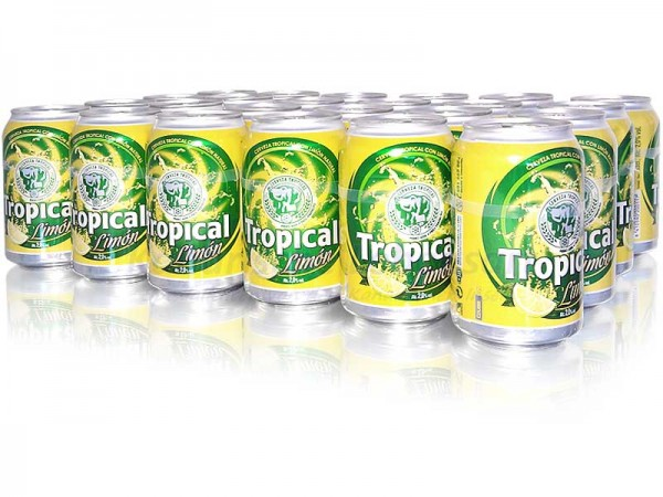 Tropical Limon 330ml Dose im 24er-Pack